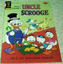Walt Disney's Uncle Scrooge139, NM- (9.2) Isle of Golden Geese! 50% off Guide!