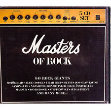 Masters of Rock by Various Artists (3 CD Box-Set, 2001, Big Eye Music) Brand New