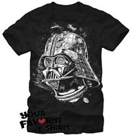 Star Wars Darth Star Darth Vader Death Star Licensed Adult T-Shirt