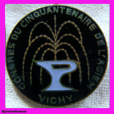 BG4181 - INSIGNE 50° CONGRES AGIEM INSTITUTEURS 1977 A VICHY
