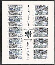CEPT, Europa, Monaco 1991, Mi Block 50, postfrisch, KW 25,00€
