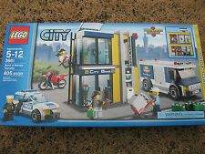 NEW LEGO 3661 Set CITY Bank & Money Transfer Robbery Police Car Motorcycle Truck