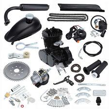 Black 50cc 2 Cycle Bike Bicycle Gas Motorized Engine Motor Kit CDI Air Cooling