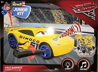 **NEW** Disney Pixar Cars 3 Revell Junior kit With Lights & Sound