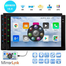 "Android 10.0 Car Stereo Radio Bluetooth Double 2 Din 7"" Usb Fm Am Mirror Link"
