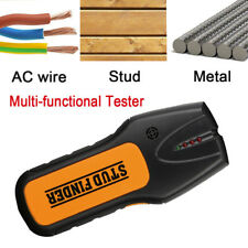 US 3 in 1 LED Stud Wood Wall Center Finder Scanner Metal AC Live Wire Detector