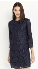 OASIS NAVY BLUE LACE DRESS BRAND NEW WITH TAG SIZE 10