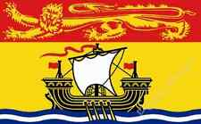 NEW BRUNSWICK FLAG - CANADIAN MARITIME PROVINCE FLAGS - Size 5x3 Feet