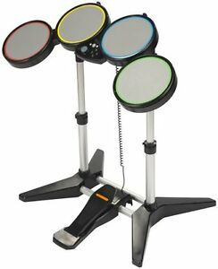 NEW PS4 & PS3 & PS2 Rock Band Wired Drum Set PlayStation 3 Original MTV
