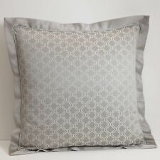Waterford Tramore Platinum One Euro Sham 26 x 26 New