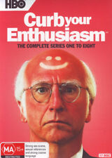 Curb Your Enthusiasm Season 1 2 3 4 5 6 7 8 Box Set (17 Discs) DVD R4 New!!!