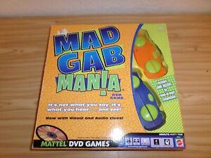 Mad Gab Mania DVD Game by Mattel