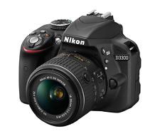 Nikon D3300 24.2 MP Digital SLR Camera w/AF-S DX VR II 18-55mm Lens (Black)-NIB