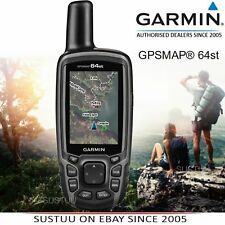 Garmin GPSMAP 64ST │Handheld GPS GLONASS Navigator│TOPO Europe Maps│BARO Compass