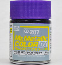 GSI CREOS GUNZE MR HOBBY Color GX207 Metallic Violet LACQUER PAINT 18ml NEW