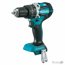 "Makita 18V Lithium-Ion Brushless 1/2"" Hammer Driver Drill Skin DHP484Z XPH12Z"