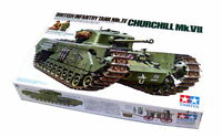 Tamiya Military Model 1/35 CHURCHILL Mk.VII British Infantry Tank Mk.IV 35210