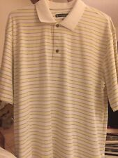 Pebble Beach Performance Polo Shirt Golf Men's XL Short Sleeve