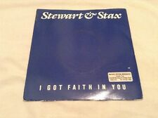 "Stewart & Stax-I Got Faith In You/Rita's Baby 7"" Single.1986 Rainbow RBR 10."