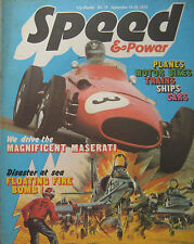 Speed & Power magazine 19 September 1975 Issue 79