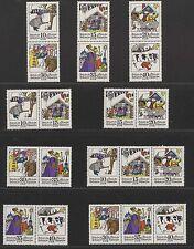 DDR MiNr. 1995-2000 (Zwitscher hin...) kpl. Zusammendruckgarnitur postfrisch