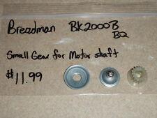 Breadman Bread Maker Small Gear for motor shaft in Model BK2000B (Used) BK2000BQ