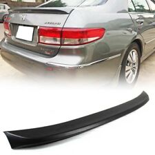 STOCK LA Honda Accord 7th 4D OE Type Rear Trunk Spoiler Unpainted US 05