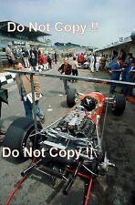 Graham Hill Gold Leaf Team Lotus 49B British Grand Prix 1968 Photograph 1