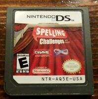 Spelling Challenges and More (Nintendo DS, 2007) - Game Only