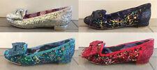 Irregular Choice 'Sparkle' Low Heel / Flat 'Light Up Flashing LED Lights' Shoes