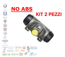 KIT 2 CILINDRETTO FRENO FIAT PUNTO 55 IDEA PANDA 169 LANCIA Y 1.1 1.3 040442