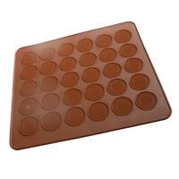 Nouveau tapis de feuille de moule de cuisson en silicone avec 30 cavites de U7G9
