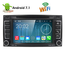 Android 7.1 Quad Core Car Stereo DVD Player GPS Navigation Fr VW TOUAREG 2GB RAM