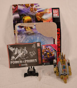 Transformers Power of the Primes Generations Deluxe Dinobot Snarl