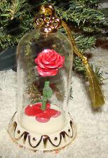 Disney Showcase, Beauty & the Beast Rose Ornament (Lenox, 859519)