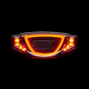 Scrambler Icon 2015-2020 3D tunnel effect taillight for ducati LED REAR TURN SIG