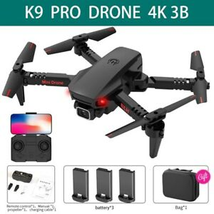 2021 NEW RC Drone 4k HD Wide Camera WiFi FPV Rechargeable Quadcopter Flight USA