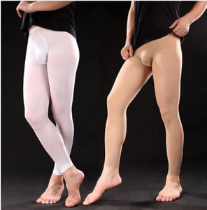Men's Stocking with Pouch Tights 120D Thick  #271
