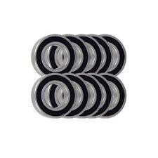 Pack 10 6800 61800 10x19x5mm 2RS Dünn Abschnitt Deep Groove Ball Bearing