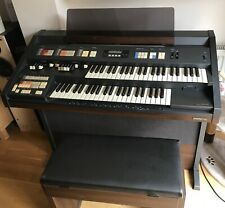 More details for vintage hammond super ex2000 organ with matching stool, 1994.