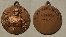 medaglia XI direzione artiglieria Messina