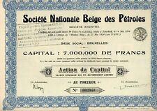 SOCIETE NATIONALE BELGE DES PETROLES