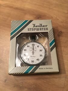 Hanhart 115.0301-00 Mechanical Stopwatch