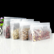 Matte Clear Self Seal Bags Plastic Seal Stand Up Food Bag Pouches Packaging