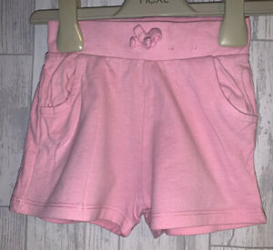 Girls Age 12-18 Months - Pink Shorts - Excellent Condition
