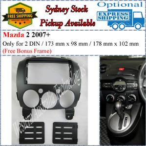 Fascia facia Fits Mazda 2 Neo 2007-2014 Double Two 2 DIN Dash Kit