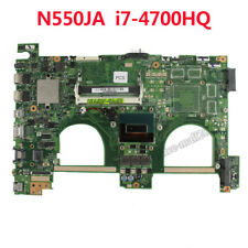 For Asus N550JA Motherboard W/ i7-4700HQ CPU 60NB01G0-MB4000 REV2.0 Mainboard