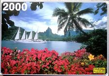 "- puzzle FAME PUZZLES 2000 pièces  "" COOK'S BAY ""  NEUF !"