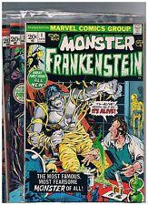 Frankenstein Monster 1-18 complete series, Marvel, Mike Ploog, John Buscema, FN+