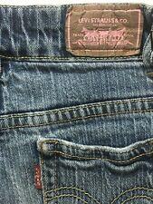 "Levi's Girls Jeans Size 8 Medium Wash 21"" X 26"""